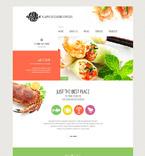 Cafe & Restaurant Website  Template 54814