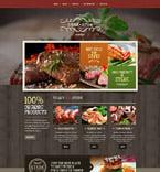 Cafe & Restaurant Website  Template 54819