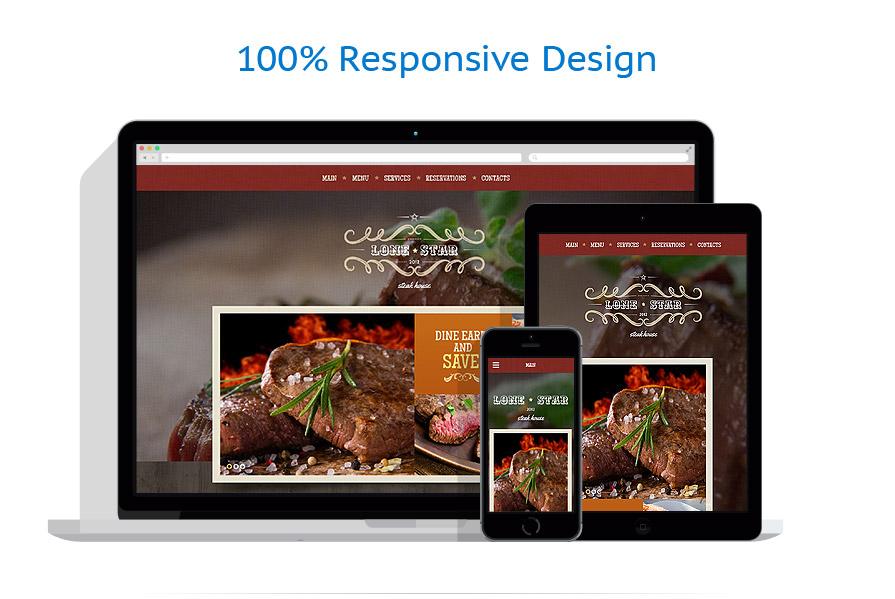 Modèles HTML5 Café et Restaurant #54819