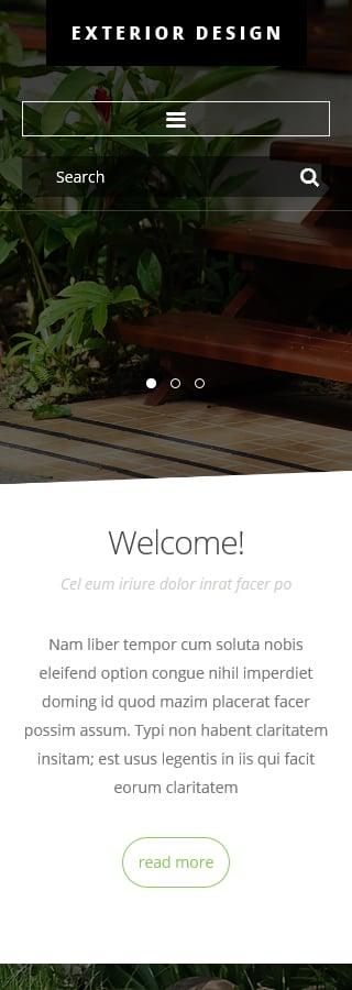 Joomla Theme/Template 54825 Main Page Screenshot