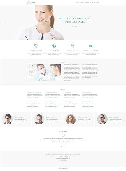Drupal Template 54829 Main Page Screenshot