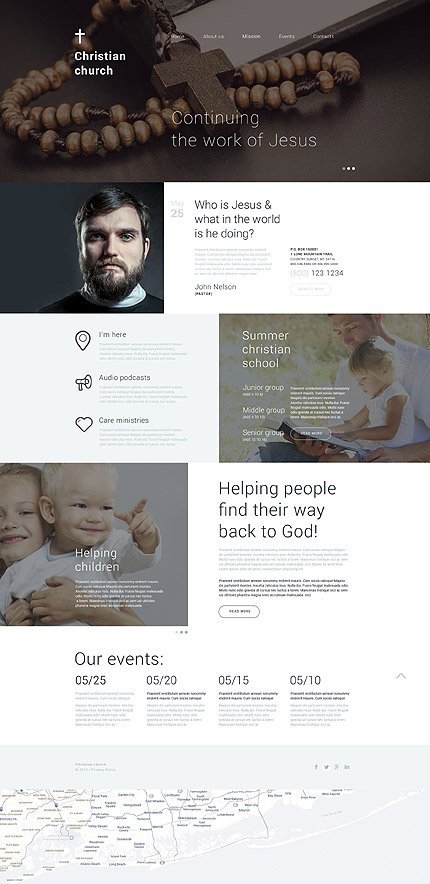 Drupal Template 54830 Main Page Screenshot