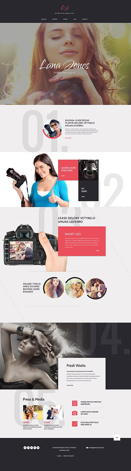 Drupal Template 54832 Main Page Screenshot