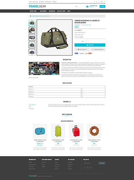 ADOBE Photoshop Template 54836 Home Page Screenshot