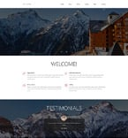 Hotels Joomla  Template 54837