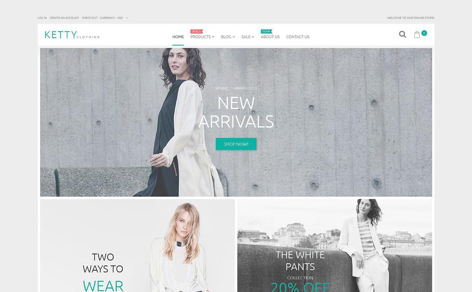 Responsywny szablon Shopify #54842 na temat: odzież New Screenshots BIG