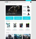 Games osCommerce  Template 54843