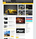 Cars WordPress Template 54849