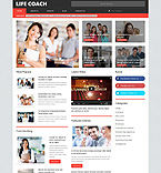 Society and Culture WordPress Template 54852