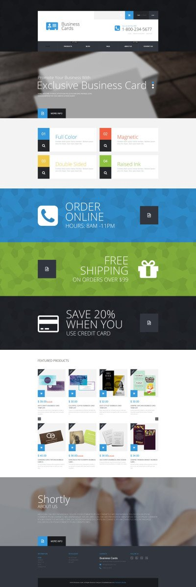 Företag & tjänster Responsivt Shopify-tema