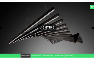 Lighting Online Store PrestaShop Theme
