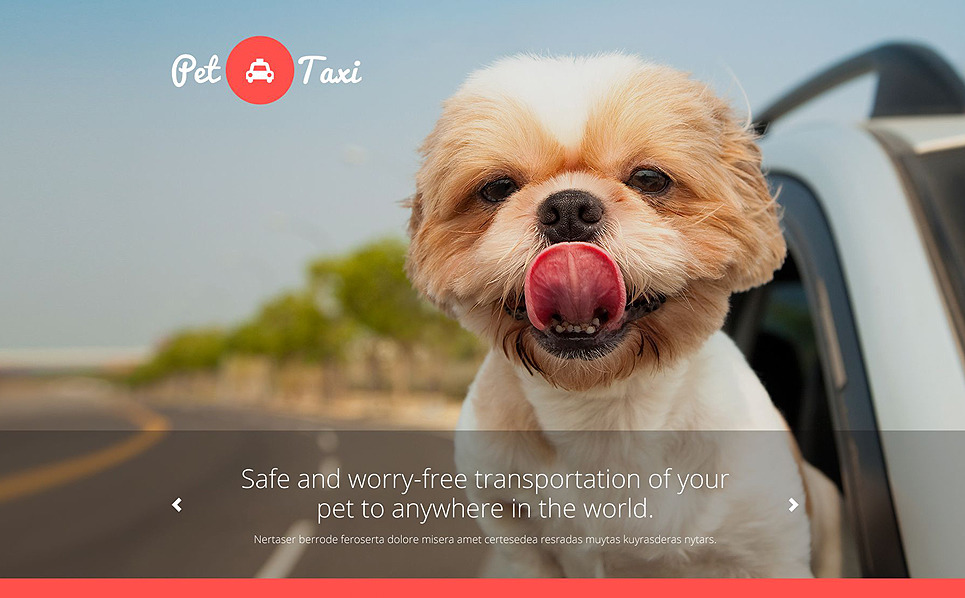 Template Web Flexível para Sites de Taxi №54858 New Screenshots BIG