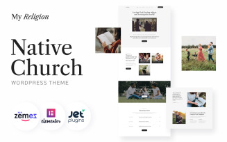 Native Church - My Religion WordPress Theme