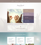 Religious WordPress Template 54859