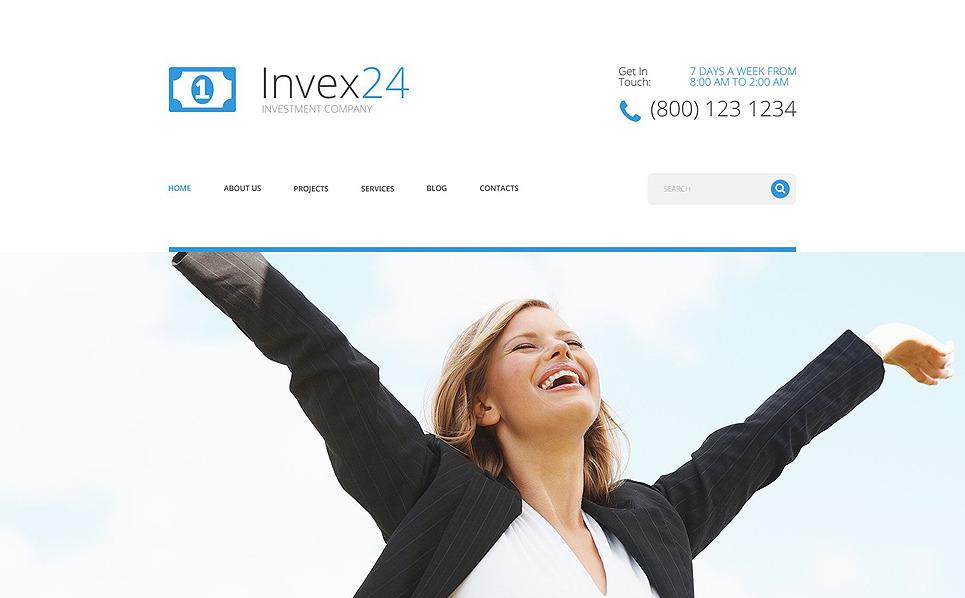 Responzivní WordPress motiv na téma Investiční agentura New Screenshots BIG