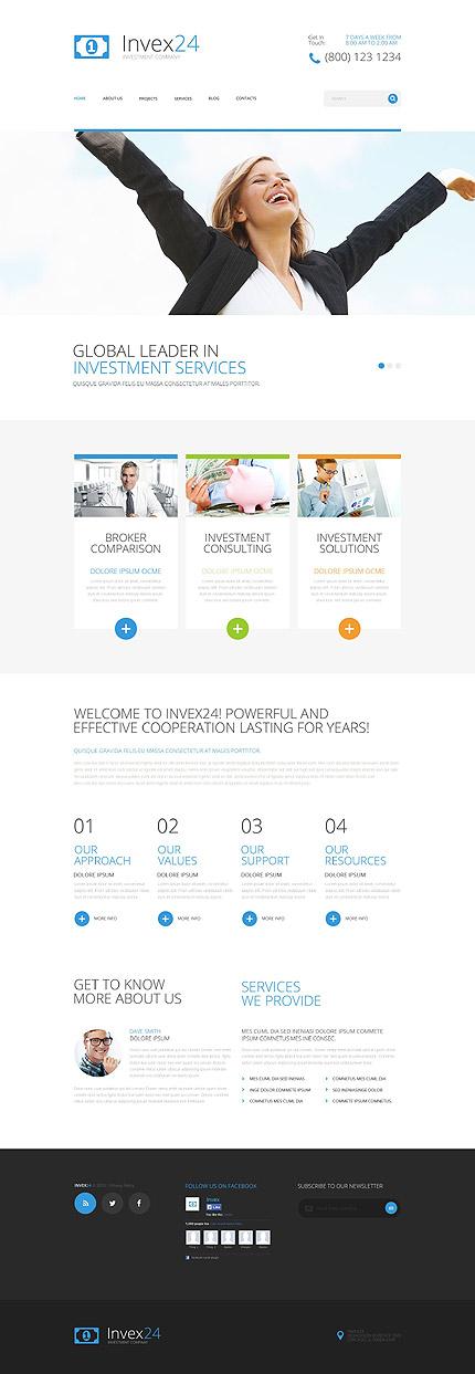 WordPress Theme/Template 54861 Main Page Screenshot