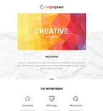 Web design Newsletter  Template 54862
