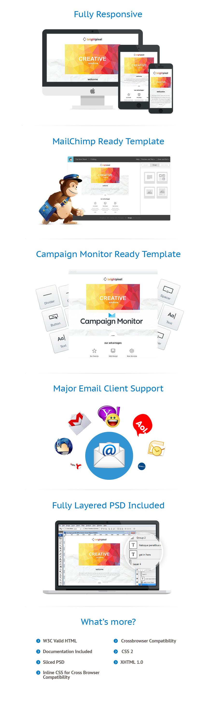 Modèles Newsletter Web design #54862
