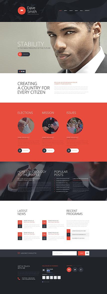 Joomla Theme/Template 54863 Main Page Screenshot