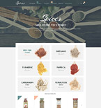Food & Drink Magento Template 54864