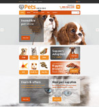 Animals & Pets WooCommerce Template 54868