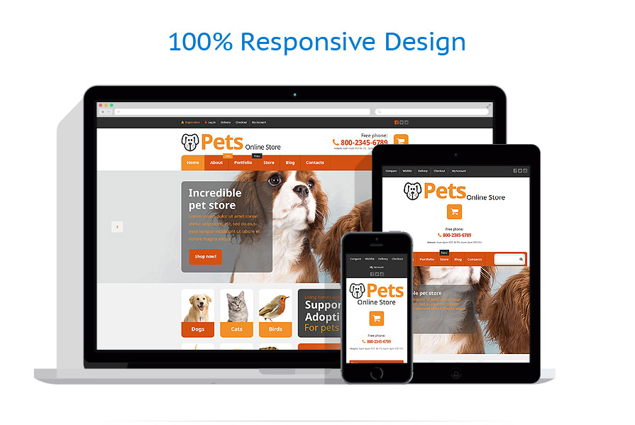 WooCommerce Themes Animaux #54868