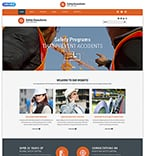 Security Website  Template 54876
