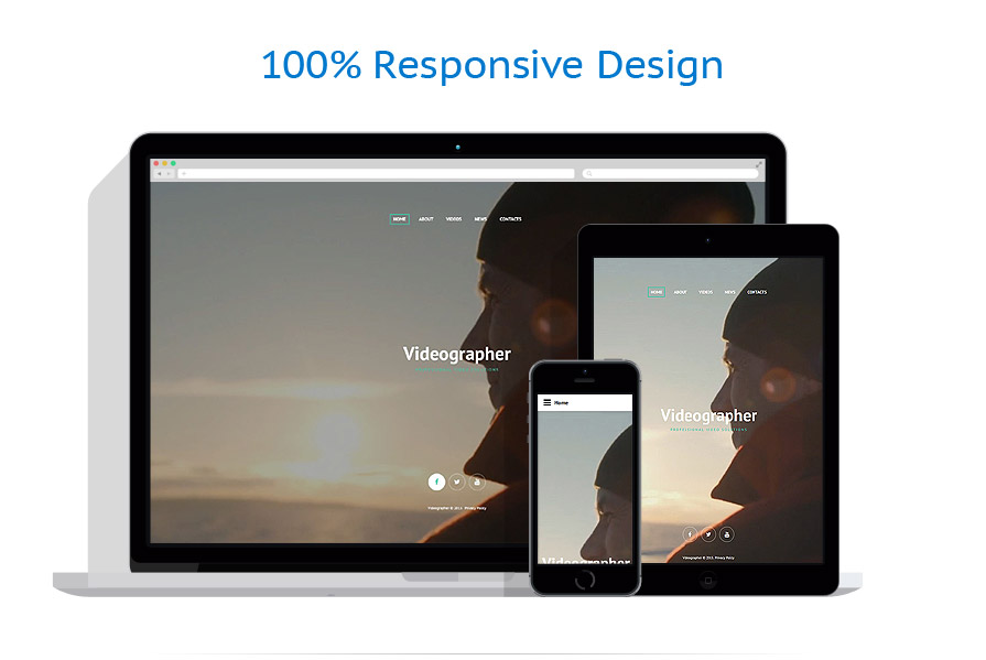 Videographer Web Template