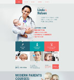 Medical Website  Template 54879