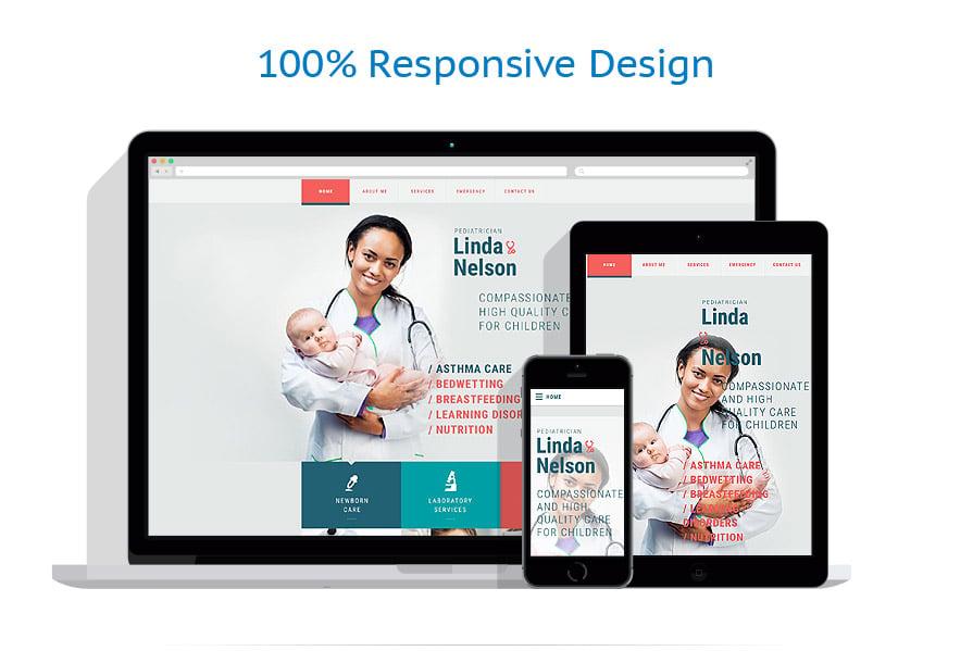 Modèles HTML5 Médical #54879