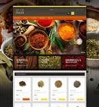 Food & Drink osCommerce  Template 54883