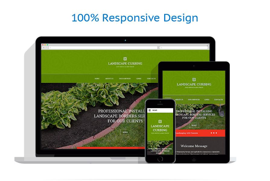 Exterior design website template 54885 for Exterior design templates