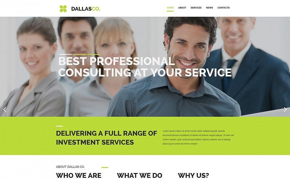 Responsives Moto CMS 3 Template für Business und Dienstleistungen New Screenshots BIG