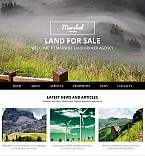Real Estate Moto CMS 3  Template 54893