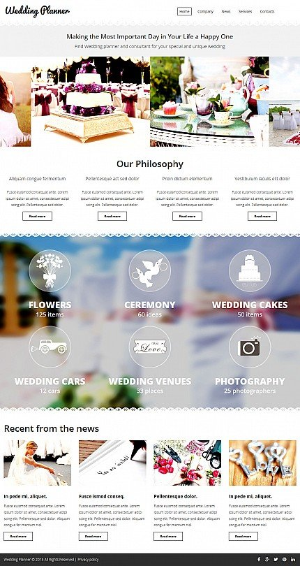 ADOBE Photoshop Template 54896 Home Page Screenshot