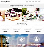 Wedding Moto CMS 3  Template 54896