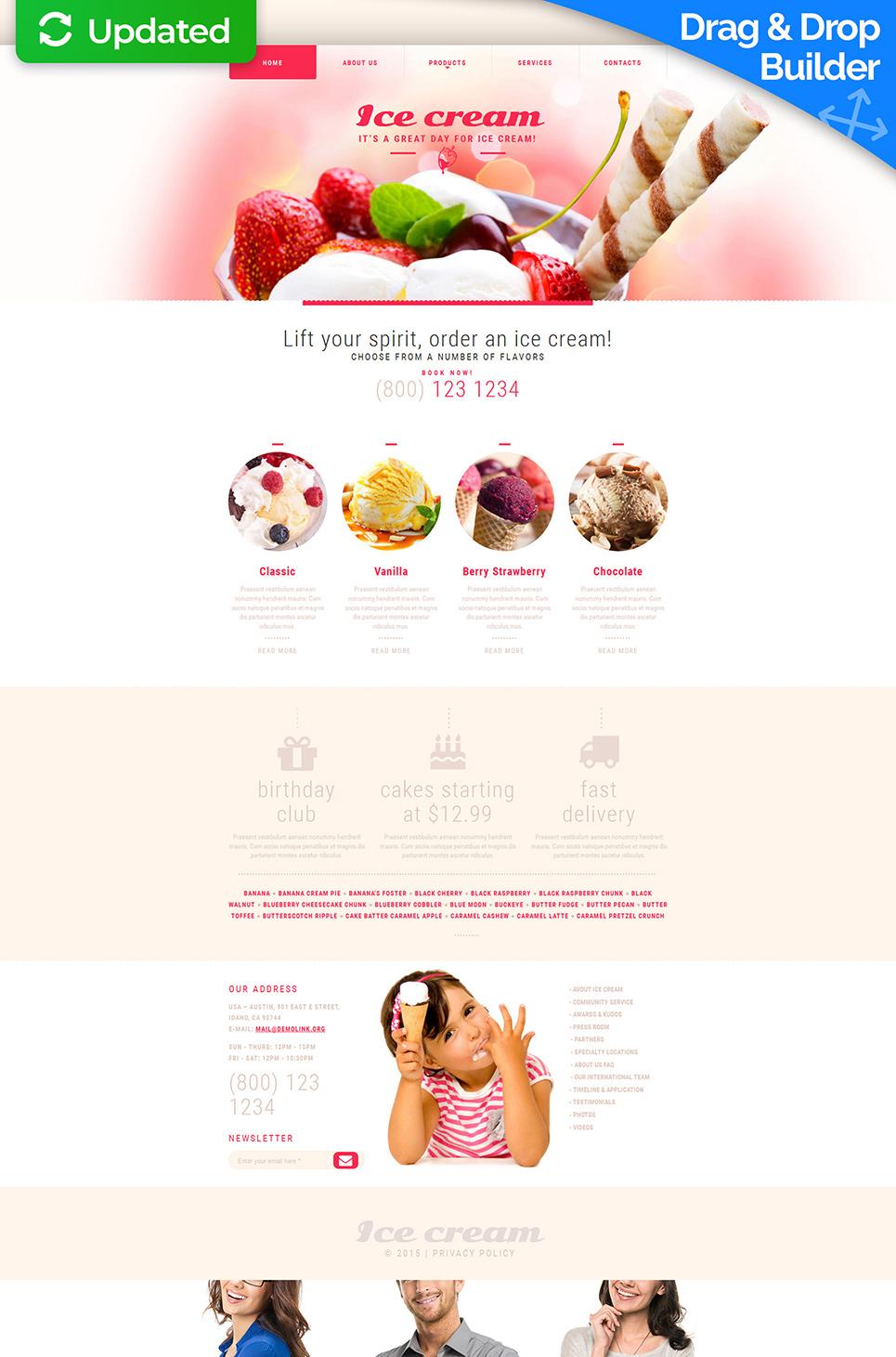 Food Website Design - image