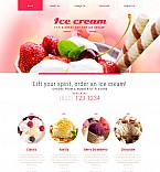 Food & Drink Moto CMS 3  Template 54897