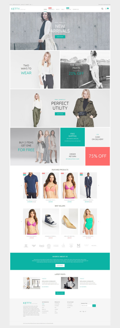 Apparel Responsive Shopify Theme #54842