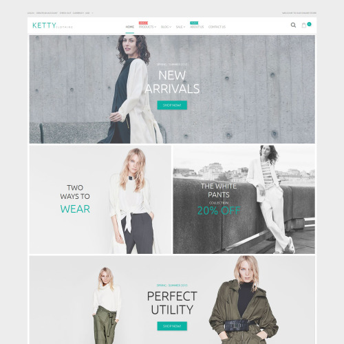 Ketty  - Shopify Template based on Bootstrap