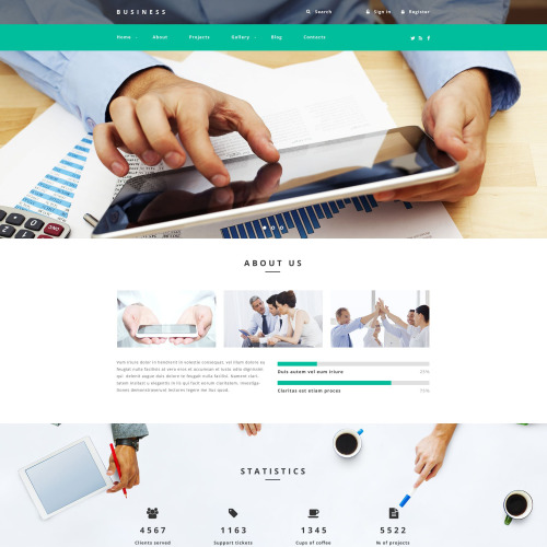 Business  - Responsive Drupal Template