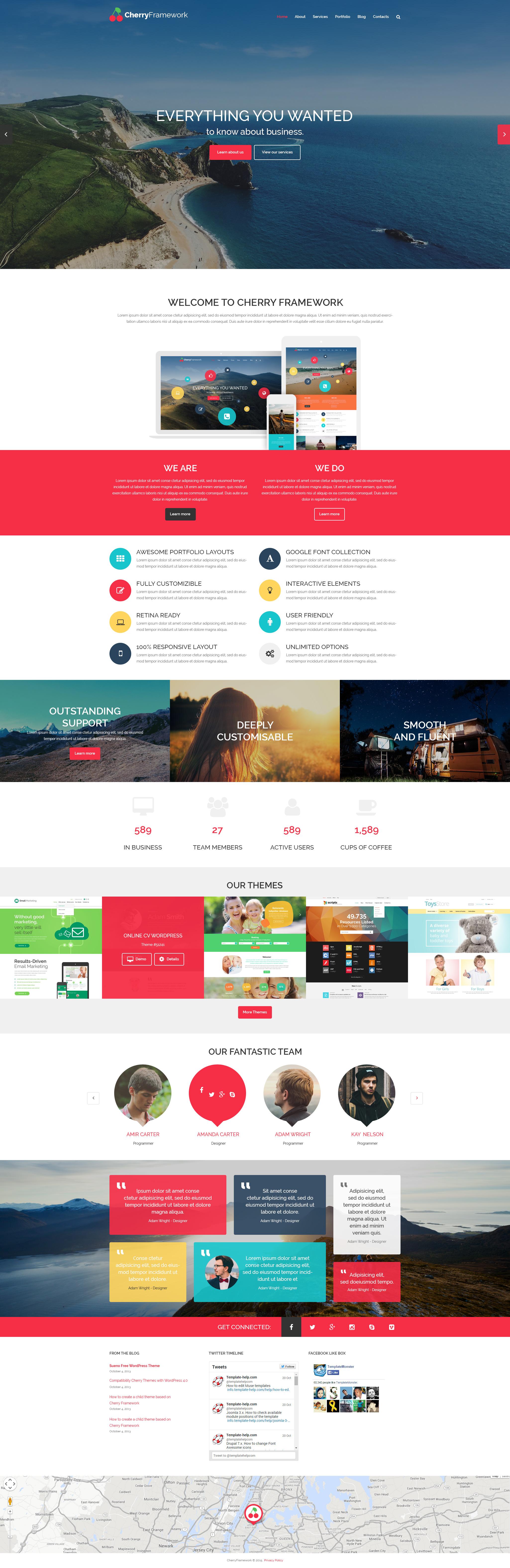 Cherry Framework Free WordPress Theme WordPress Theme