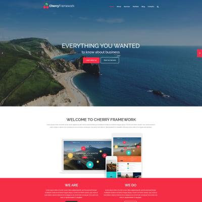 Thème WordPress adaptatif  pour site d'agence de voyage