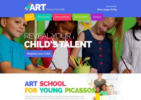 Kids Art School