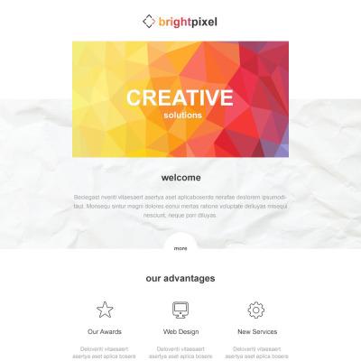 Design Studio Responsive Newsletter Template #54862