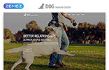 """Dog Training Center - Dog Templates Responsive Modern HTML"" modèle web adaptatif"