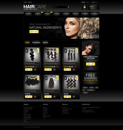 Hair Studio PrestaShop Theme #54853