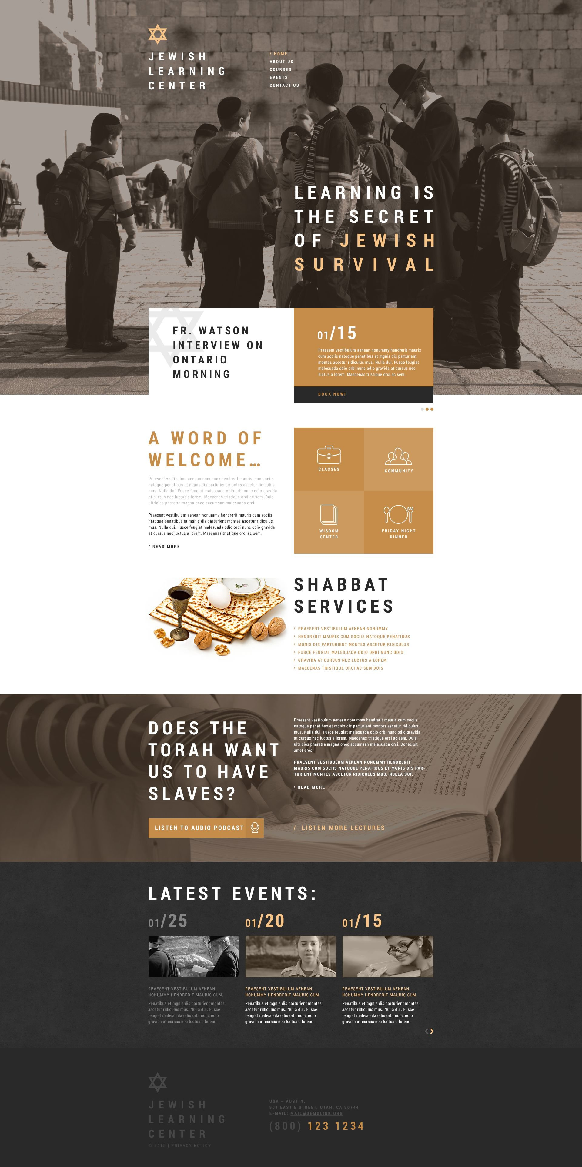 Jewish religious school site template jewish school website template toneelgroepblik Images