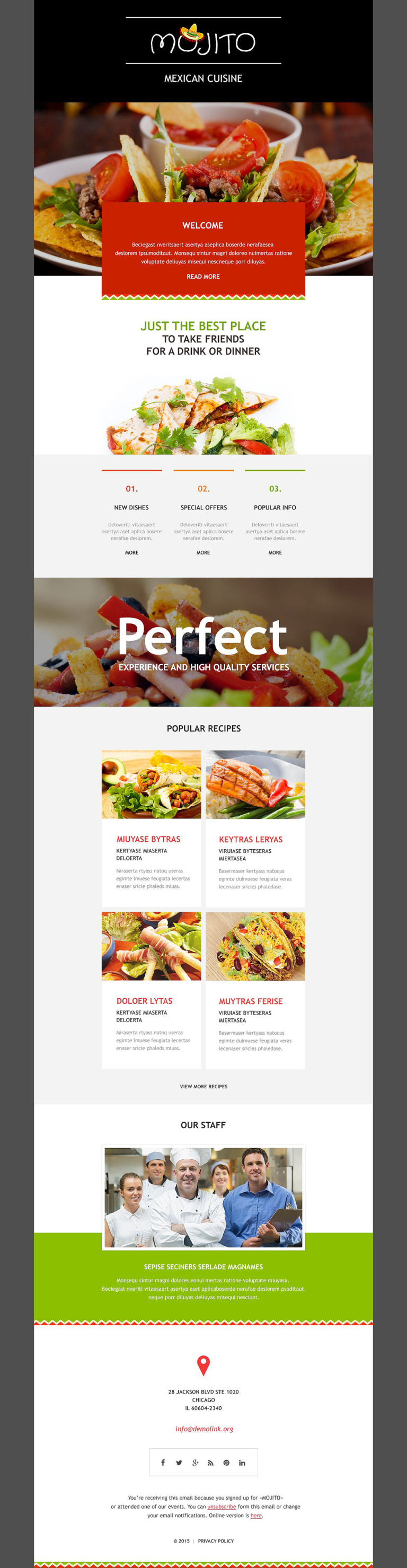 Mexican Restaurant Responsive Newsletter Template New Screenshots BIG