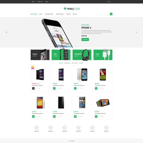 Mobile Store - PrestaShop Template based on Bootstrap